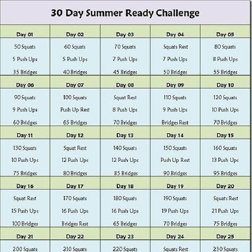 30 daysss... Voy a miiiiiii :') Challengue Exercise Motivada  Pumped 30days