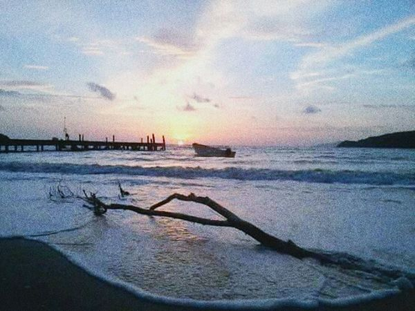 Beautiful ♥ Sunset Islandlife Slowlife Byphone Kohmak/thailand