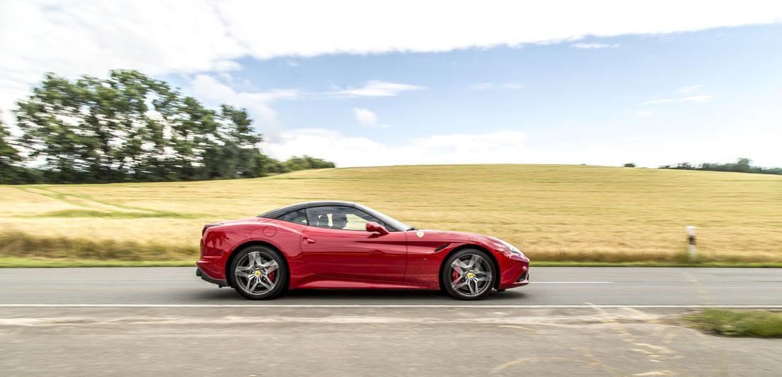 Car Convertible Day Ferrari California T HS Luxury Car No People Outdoors Sports Car