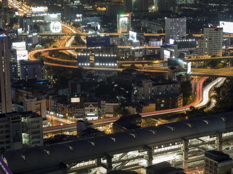 Bangkok Night Scene Night Lights Night Scene Architecture Building Exterior Built Structure City Cityscape Illuminated Metropolis Metropolis Scene Night Night Scape Outdoors Skyscraper