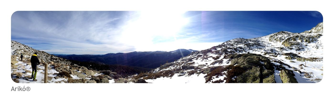 perfect Sunday! Snow Peñalara SPAIN Freedom Mountains Sky Sunset Nature Mylife Moments Nieve