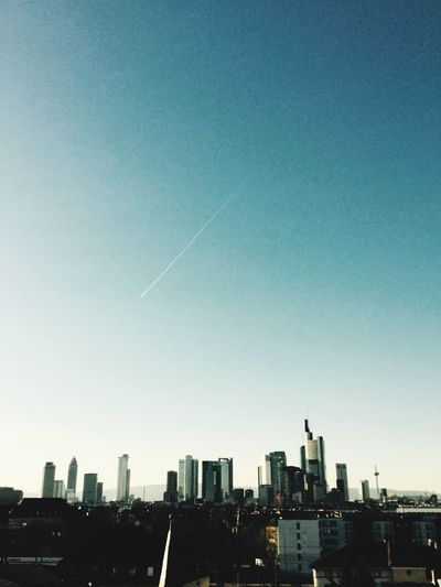 Stadt mit der einzigen Skyline Europas! First Eyeem Photo