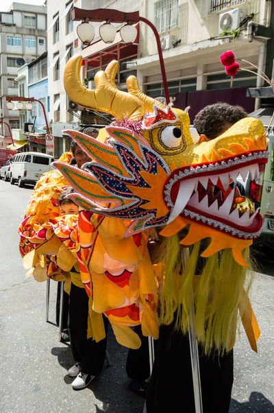 Celebration Chinese New Year Dragon Streetphotography Brasil Sampa Arts Culture And Entertainment Day Outdoors No People Chinese Dragon