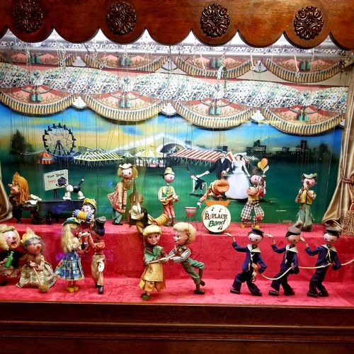 marionettes Marionettes Truckerslife Carousel Multi Colored Childhood Close-up