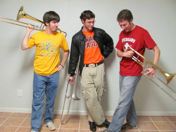 Friends Music Portrait Trombone