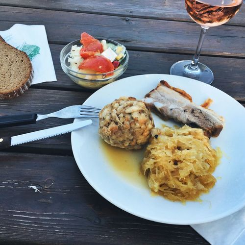 Heurigen Heurigen Meal Austrian Food Viennese Cuisine Down To Earth Dining