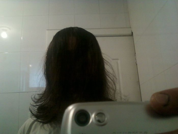 Muajajajaja Antiselfie Bathroom Ligth And Shadow Long Hair Selfietime Selfportrait
