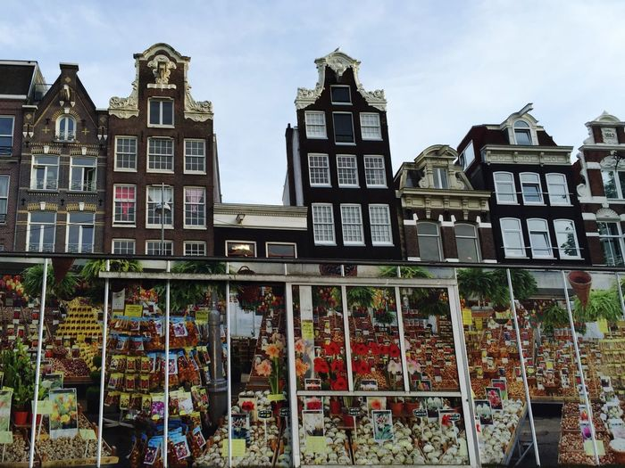 Smartphonephotography By Boat Flowermarket Canal Canalhouse Your Amsterdam