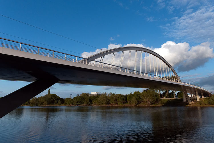 Arch Architecture Bridge Bridge - Man Made Structure Built Structure Canon Cityscape Cloud - Sky Connection Day Engineering No People Outdoors River Sky Transportation Tree Water