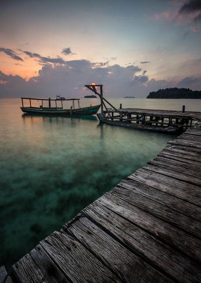 docks Water Sea