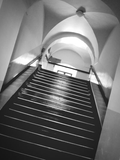 Steps Steps And Staircase Stairs Indoors Low Angle View Moving Up No People Arturhippe Pokojartura Polishpriest Zamość First Eyeem Photo