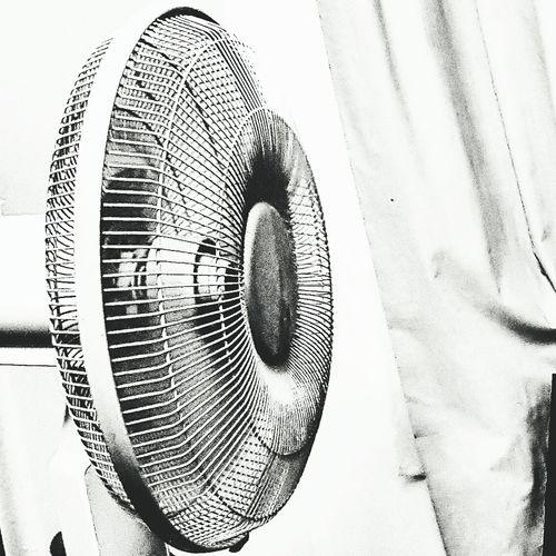 Fan Electric Fan Blackandwhite Monochrome Simple Image Breeze Everyday Object Summer