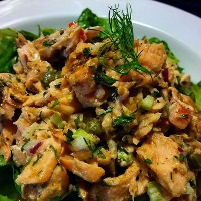 Salmon Salad! Ddcatering