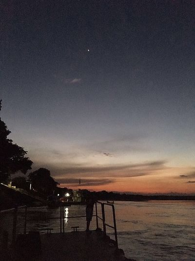 Estrellas Cielo 🌌 Cositasbuenas ILove Colombia Es Bella 🇨🇴 Sky Beauty In Nature Silhouette Scenics Sunset Nature Tranquility Sea Water Tranquil Scene Idyllic Outdoors Cloud - Sky Beach No People Astronomy Night Star - Space Galaxy