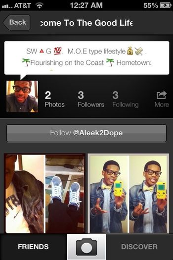 Go Follow @Aleek2Dope ...  He Has Cute Pictures . Do It Now