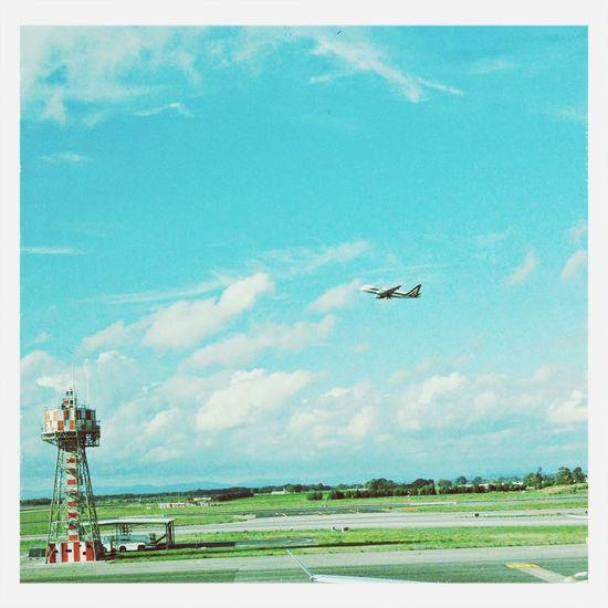 ✈ ☀☁ Sun Airplane