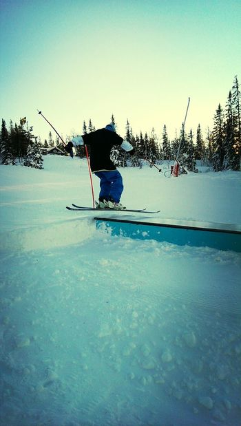 Hitting the box in Åre, Sweden Winter White By CanvasPop