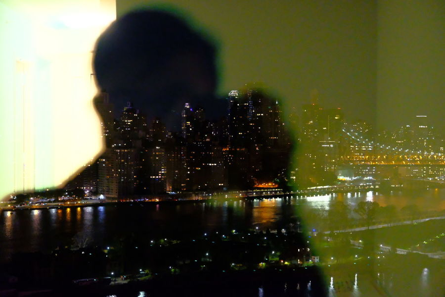 Person Nightphotography Manhattan Long Island City Glasses Take Photos Take Picture Man