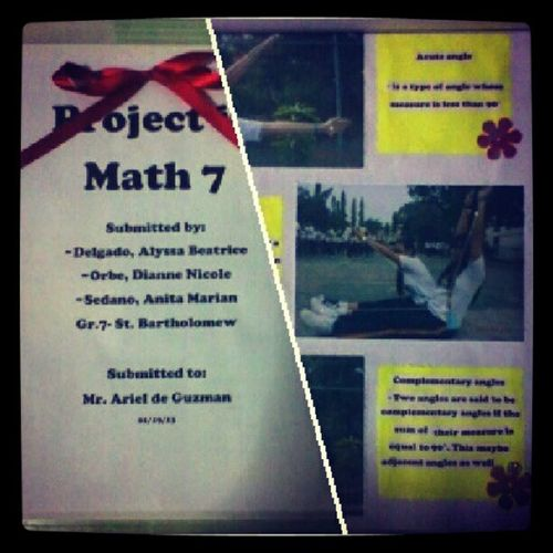 Done with the project. :-) LateProject Redribbon Goodevening