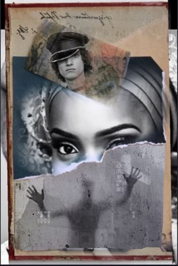 Collage Forgotten Dreams New Nightmares Photographic Approximation Portrait Of A Woman Exploring The Subconscient Facial Experiments She Will Always Be!