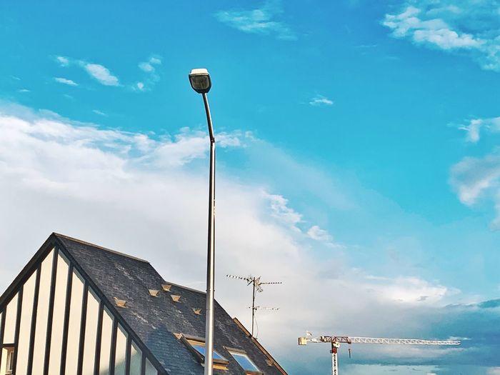 Crane Sky Cloud