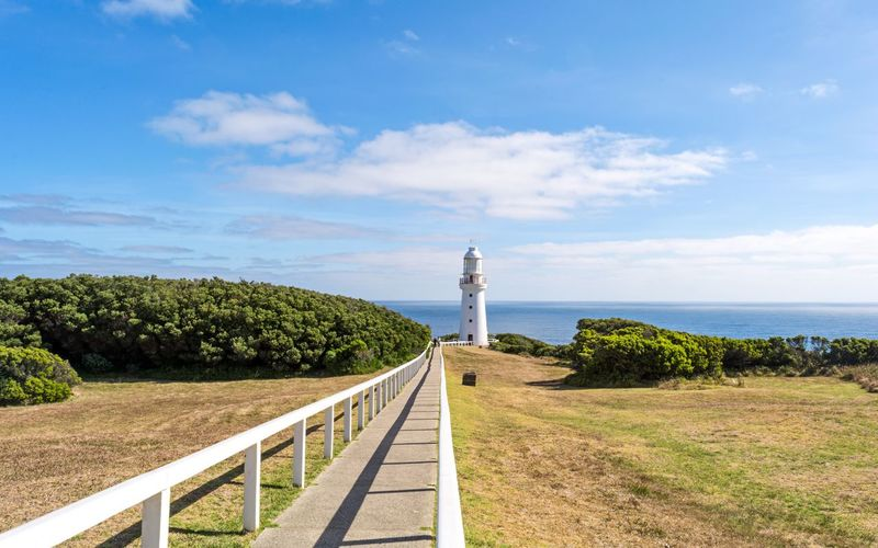 Cape Otway Light Station Hidden Gems  Travel Destinations Lighthouse Leading Lines Sea Horizon Sky The Way Forward Water Blue Diminishing Perspective Outdoors Remote Finding New Frontiers