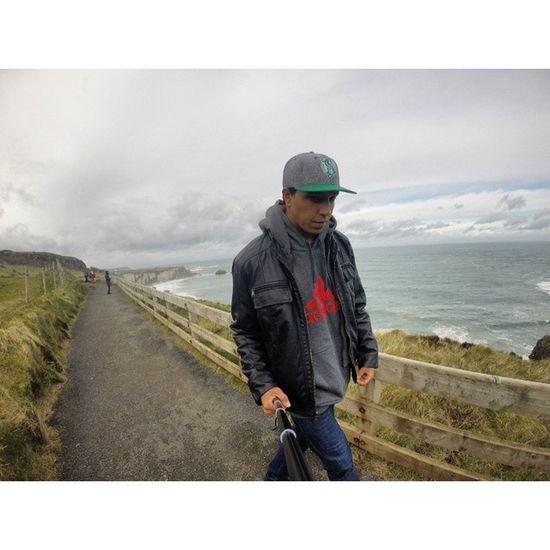 Veja como o tempo voa ... TBT  Gopro Hero3 Paradise Ireland Saudade Blogmochilando Trippics
