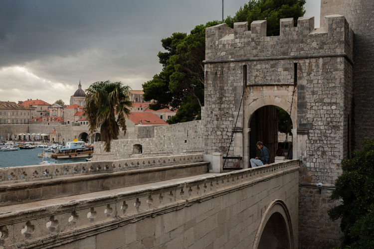 #croatia #dubrovnik Architecture Building Exterior Built Structure City No People Outdoors Water