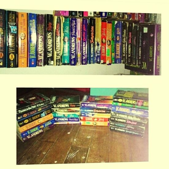 Things I Like are collecting books authored by VC Andrews not a photography. Lols.