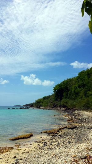 """""""Life will just not wait for us to live it: We are in it, now, and Now is the time to Live"""" by Michelle Geaney Landscape_Collection Beach Photography On The Beach in Melones Beach on Isla Culebra ,Puerto Rico"""