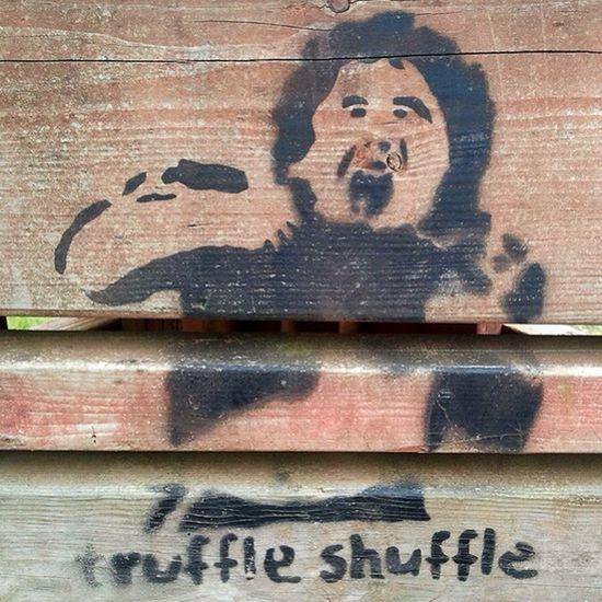 Truffle Shuffle Goonies Graffiti Funny