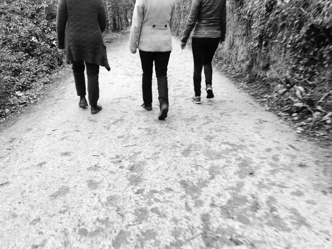 Trio Lgbt National Trust Walk Exploring Saltram House Festive Season Walking Low Section Human Leg Real People Togetherness Women Lifestyles Friendship Day People Adults Only Outdoors EyeEm Ready