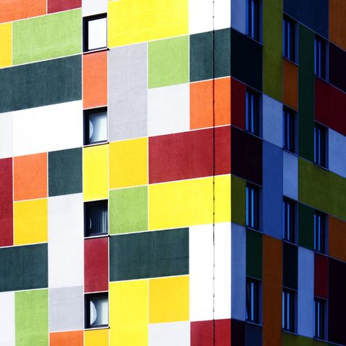 Multi Colored Full Frame Variation Backgrounds No People Architecture Indoors  The Graphic City