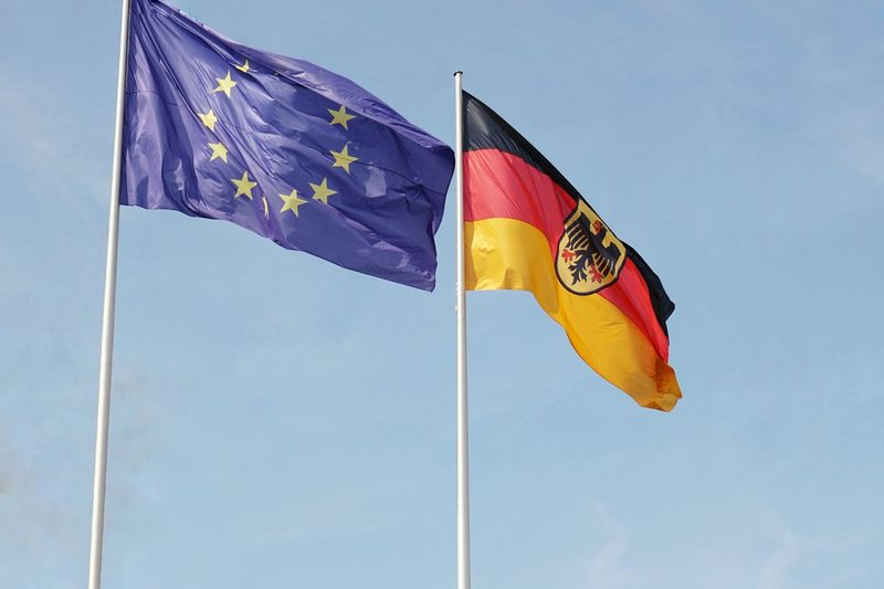 European Union German Flag Conflicts EyeEm Selects Patriotism Flag Waving Pride Sky Politics And Government National Flag Election Government Voting Politics Democracy Political Rally Symbolism Wind Fluttering Citizenship