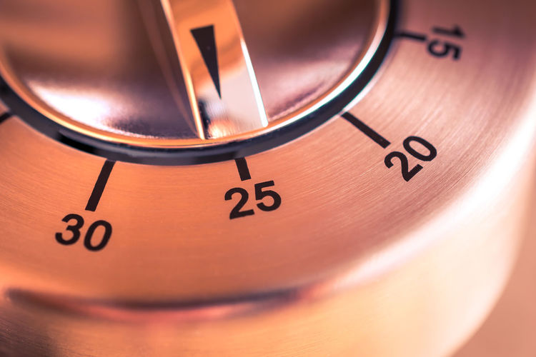 25 Minutes - Macro Of An Analog Chrome Kitchen Timer 20 2⃣5⃣ 30 Countdown Reflection Aluminum Black Chrome Counting Down Digital Art Egg Timer Hours Kitchen Metal Metallic Minutes Number Seconds Silver  Thirty Time Timer Twenty Twenty-five