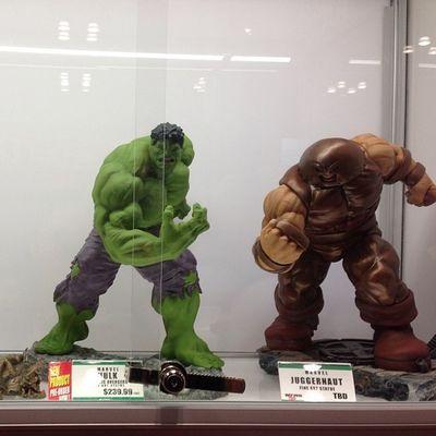 These two are badass! Toypops2 Toycrewbuddies Toyartistry Toycommunity Toyphotography Hulk Juggernaut