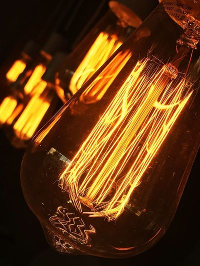 💡 lights Illuminated No People Lighting Equipment Glowing Orange Color Light Close-up Light Bulb Electricity  Night Glass - Material Light - Natural Phenomenon Electric Light Transparent