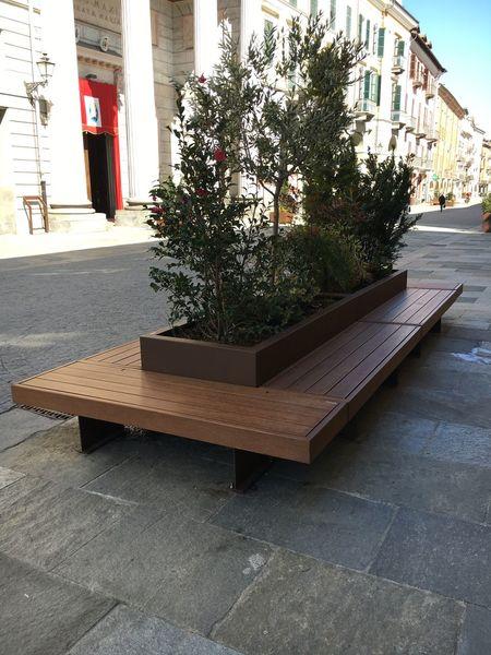 Urban Spring Fever Bench Cuneo Italy Nofilter