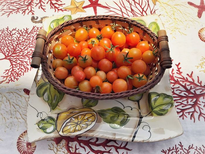 My Elios Garden Eating In Sicily Food And Drink Fruit No People Healthy Eating Food Indoors  Freshness Day Close-up Tomato Tomatoes Tomato Plant Food Stories