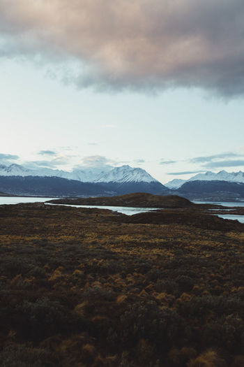 Landscape_Collection Beauty In Nature Cloud - Sky Cold Temperature Day Environment Landscape Mountain Mountain Peak Mountain Range Nature No People Non-urban Scene Outdoors Scenics - Nature Sky Snow Snowcapped Mountain Tranquil Scene Tranquility Winter EyeEmNewHere