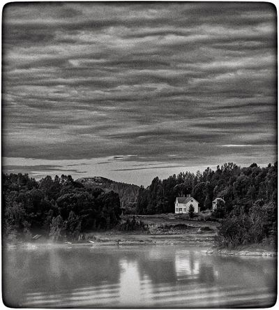 Water House Sky Architecture Cloud - Sky Norway Fjordsofnorway Fjord B/W Photography LeisureTime