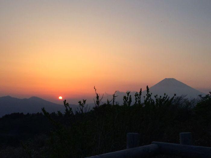 Mtfuji Hakone Sunset Skyporn 25年振りの芦ノ湖畔 地震のことはノーチェックでした