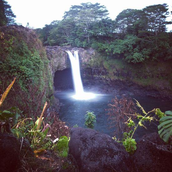 Big Island Hawaii Rainbowfalls Rainbow🌈 Hilo Hawaii