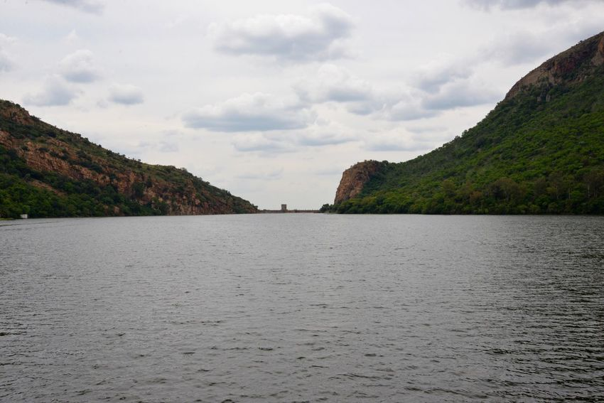 Hartbeespoort dam South Africa Traveling Hartbeespoort Dam Wall Hartbeespoort Dam Hartebeespoort Scenics Nature Cloud - Sky Tranquility Mountain Sky Tranquil Scene Outdoors No People Sea Beauty In Nature Day Water Travel Destinations