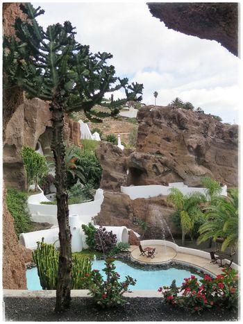 Lagomar: Das ehemalige Haus von Schauspieler Omar Sharif. An einem Tag gekauft-am naächsten beim Bridge verloren Homestories Homesweethome Nazaret Lanzarote Architecture_collection Houseinthehills