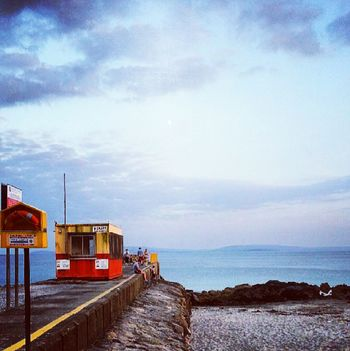 Salthill Prom Cloud - Sky Sky Tranquility Outdoors Nature Travel Destinations Beauty In Nature No People Scenics Architecture Milky Way Astronomy Day Galway City Atlantic Ocean Wild Atlantic Way Nature