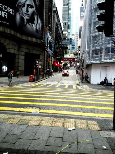 Hong Kong I like the road in HongKong
