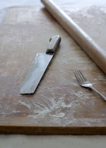 Gnocchi Gnocchi Di Patate Cleaning Up  Close-up Day Flour Gnocchihomemade Indoors  Italy Kitchen Tools Kitchen Utensils No People Preparing Food Still Life Table Wood - Material Work Tool