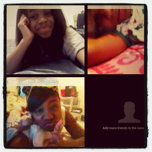 On Oovoo With My Heffas