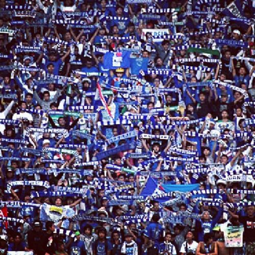 @officialvpc @simamaung @PERSIB_ONLINE_ @Persib_Bandung_ Viking Bobotoh Holligan Biru blue supporters bandung indonesia
